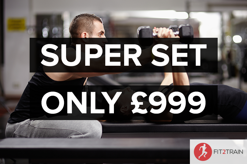 London SuperSet Personal Training Course Just £999
